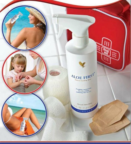 Aloe First Soothing Spray Excellent First Aid Kit